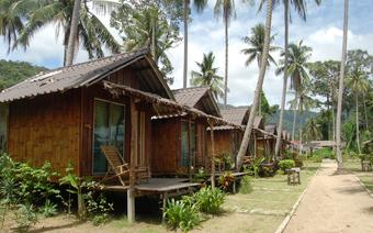 Bungalowy, w których można zatrzymać się na noc na rajskiej Kho Chang