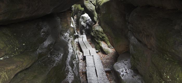 Góry Stołowe - Błędne Skały