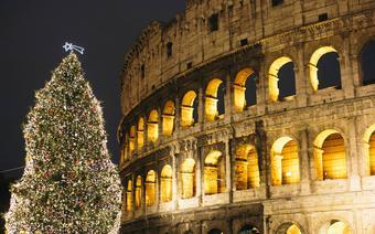 Bożonarodzeniowa choinka w Rzymie