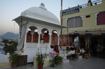 Udaipur, Indie: Restauracja Dream Heaven Guesthouse