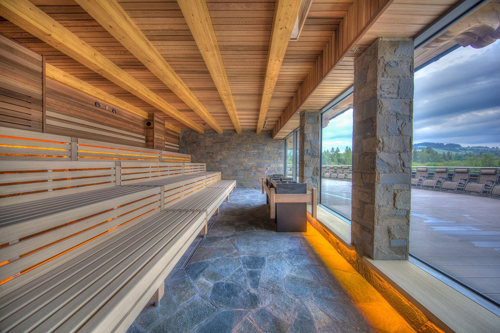 Sauna w Termach Chochołowskich