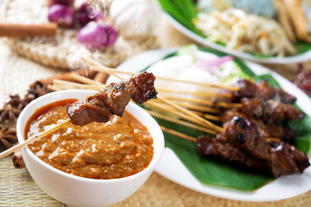 Kuchnia Bali - sataje