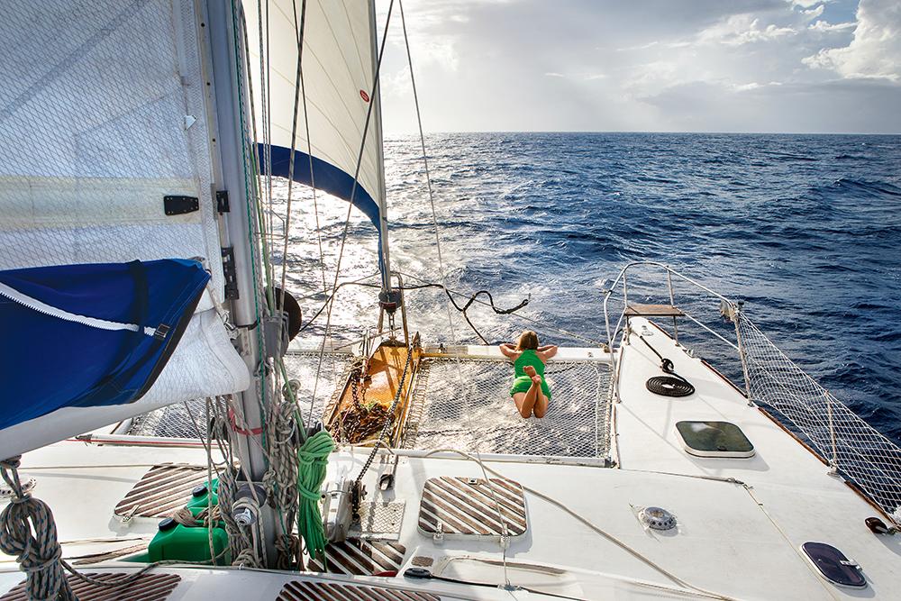 Wyspy Pacyfiku: życie na jachcie
