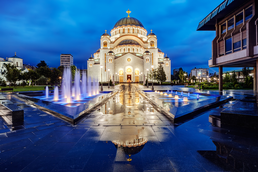 Belgrad, cerkiew św. Sawy